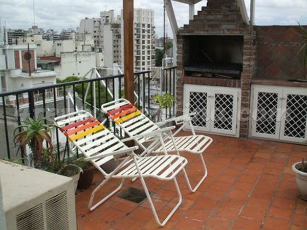 Yerbal and Otamendi: Furnished apartment in Caballito