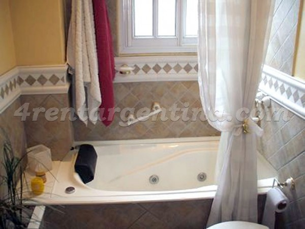 Yerbal and Otamendi: Furnished apartment in Caballito