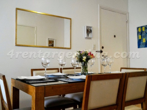 Arenales and Azcuenga III: Apartment for rent in Recoleta