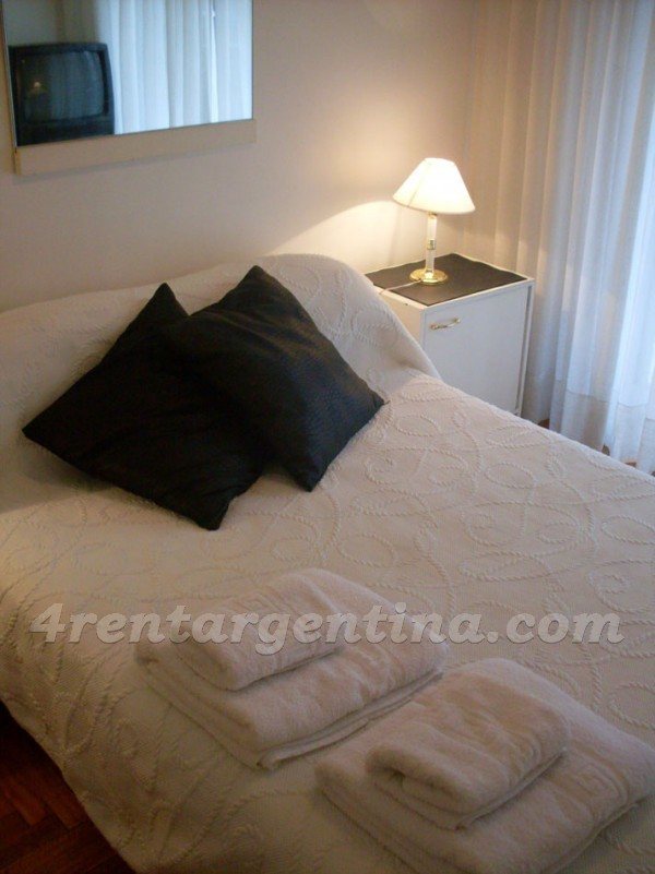 Bustamante and Charcas II: Furnished apartment in Palermo