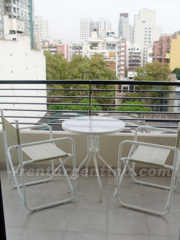 Apartment Uriarte and Paraguay I - 4rentargentina