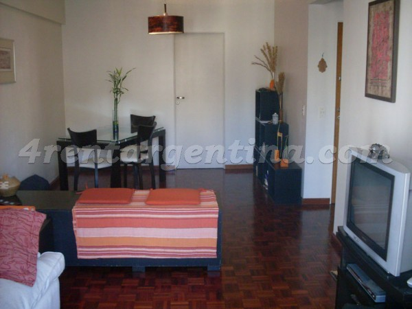 Anchorena and Arenales I, apartment fully equipped