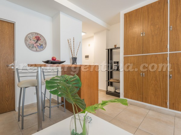Bustamante and Charcas: Furnished apartment in Palermo
