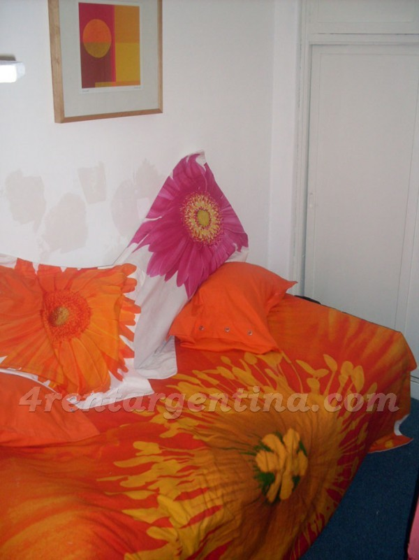 Santa Fe and Bulnes: Furnished apartment in Palermo