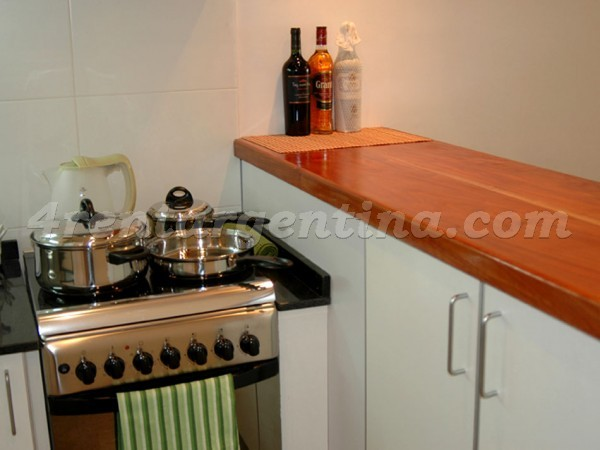 Chile and Peru: Furnished apartment in San Telmo
