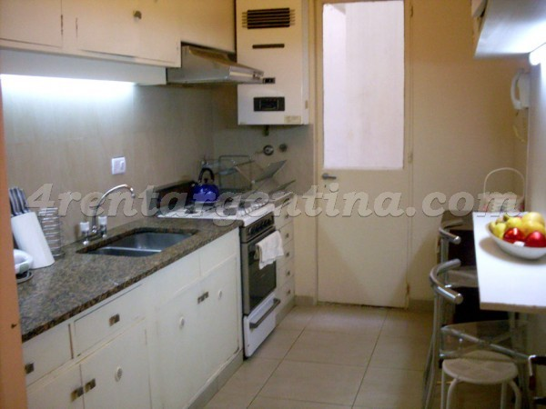 Gallo and Paraguay: Apartment for rent in Palermo