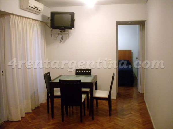 Pueyrredon and Pe�a II, apartment fully equipped