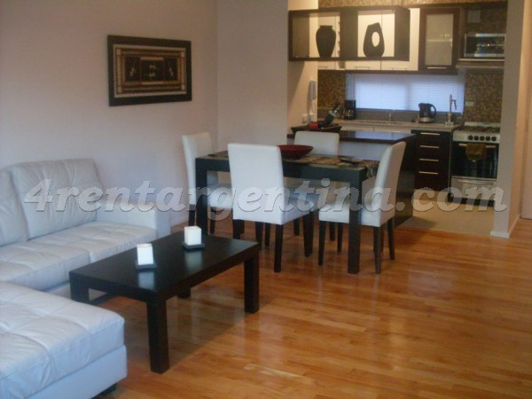 Arevalo and Nicaragua, apartment fully equipped
