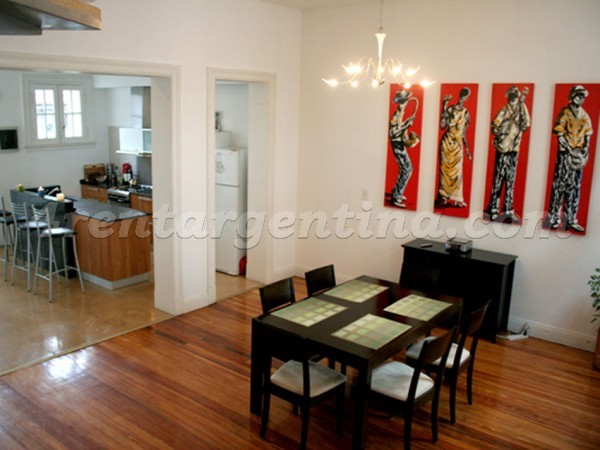 Chacabuco and San Juan, apartment fully equipped