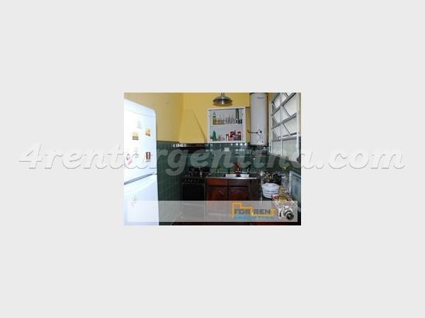 Mansilla y Anchorena: Apartamento en Alquiler Temporario