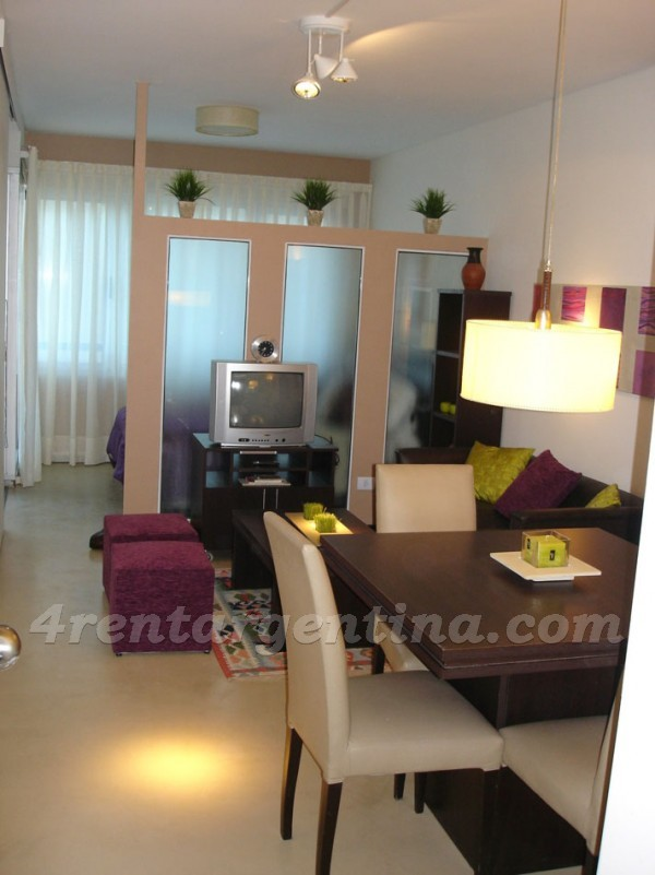 Uriarte and Charcas I, apartment fully equipped