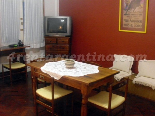 Apartment Tucuman and Pasteur - 4rentargentina