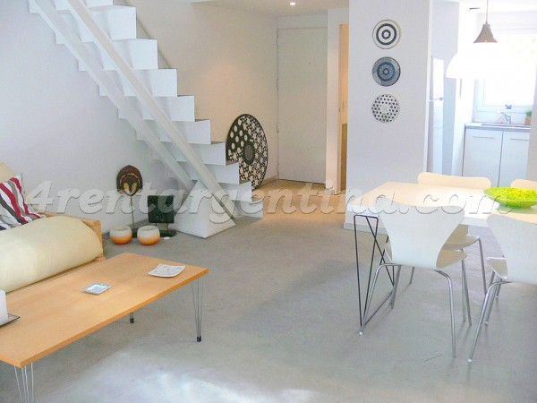 Humboldt and Gorriti I: Apartment for rent in Palermo