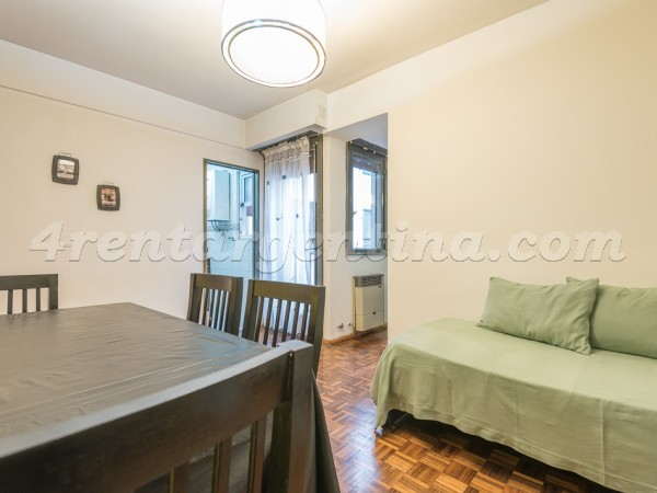 La Pampa and Ciudad de la Paz: Furnished apartment in Belgrano