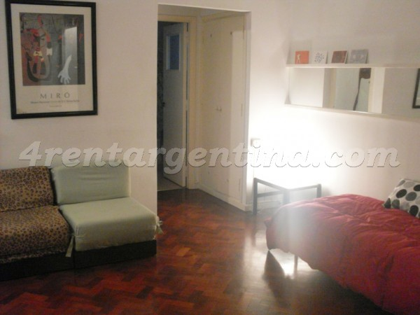 Federico Lacroze and Fraga, apartment fully equipped