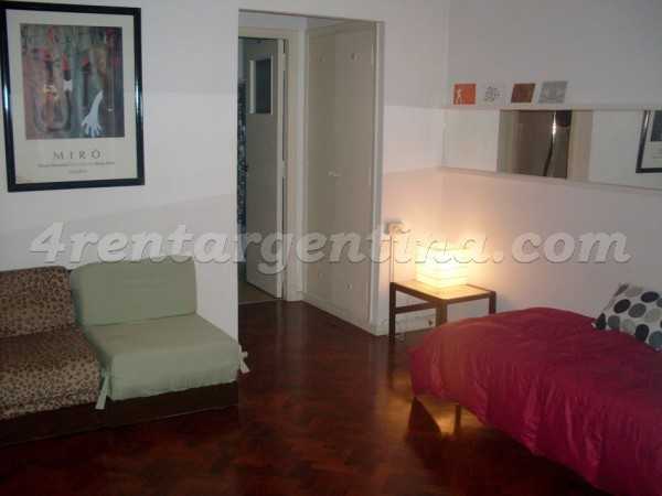 Federico Lacroze and Fraga: Furnished apartment in Colegiales