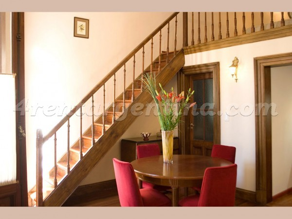 Bolivar et Finochietto I, apartment fully equipped