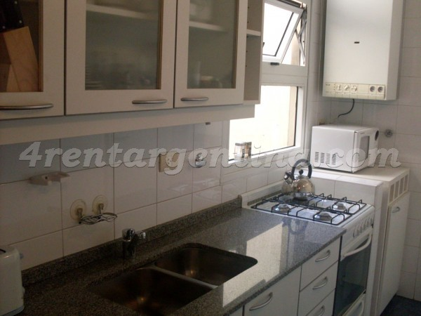 Concepcion Arenal and Cordoba I: Furnished apartment in Colegiales