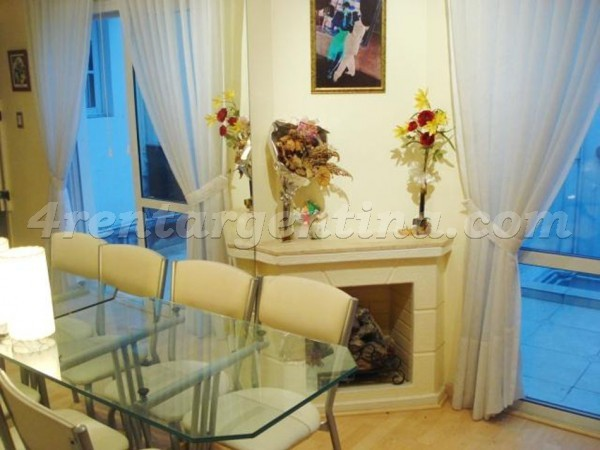 Laprida and Mansilla: Apartment for rent in Palermo