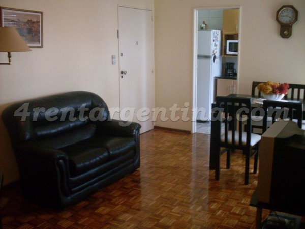 Olazabal and Amenabar: Furnished apartment in Belgrano