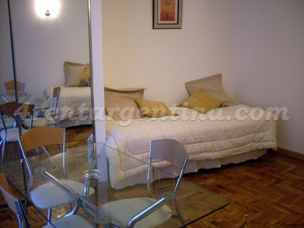 Billinghurst and Santa Fe: Furnished apartment in Palermo