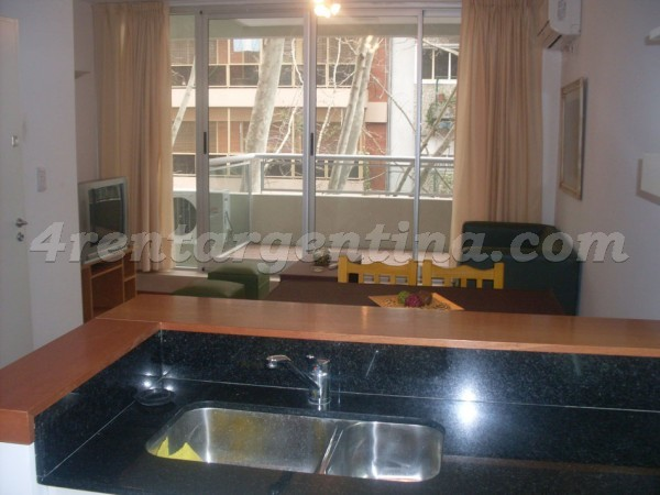 Aguilar and Ciudad de la Paz, apartment fully equipped