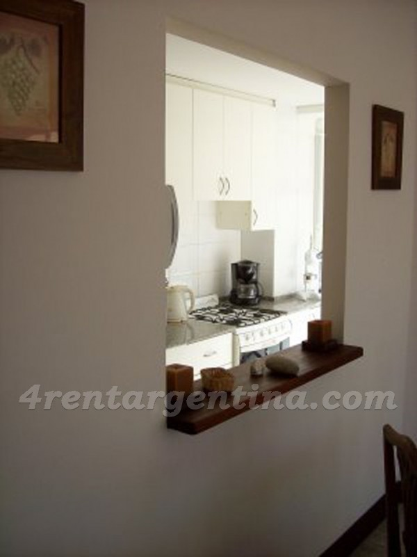 Olazabal and Libertador, apartment fully equipped
