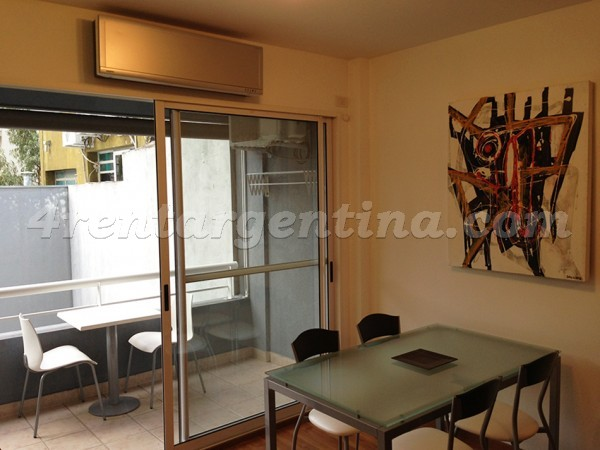 Nicaragua and Humboldt: Furnished apartment in Palermo