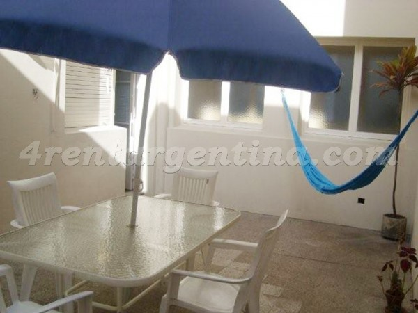 L.M. Campos et Dorrego II: Apartment for rent in Las Ca�itas