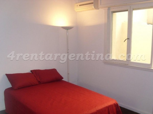 L.M. Campos et Dorrego II: Apartment for rent in Buenos Aires