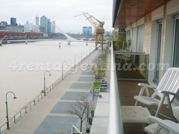 Cossettini and Azucena Villaflor II: Furnished apartment in Puerto Madero