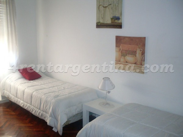 Pellegrini et Rivadavia I: Furnished apartment in Downtown