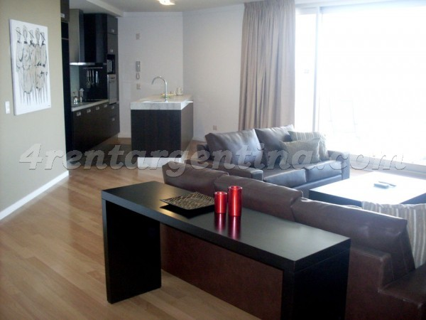 Manso and Alvear Pacini: Apartment for rent in Puerto Madero