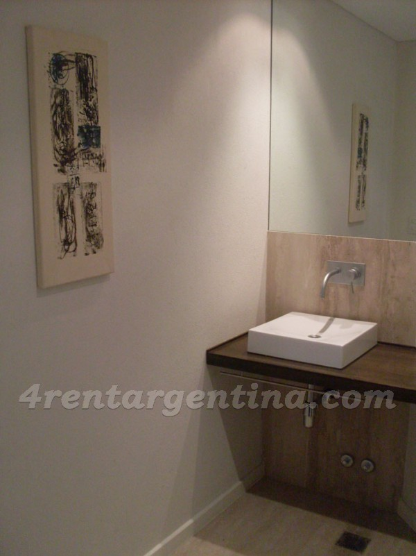 Manso and Alvear Pacini, apartment fully equipped