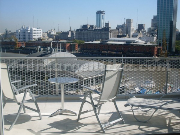 Manso and Alvear Pacini I: Apartment for rent in Puerto Madero