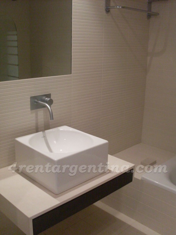 Manso and Alvear Pacini I: Furnished apartment in Puerto Madero