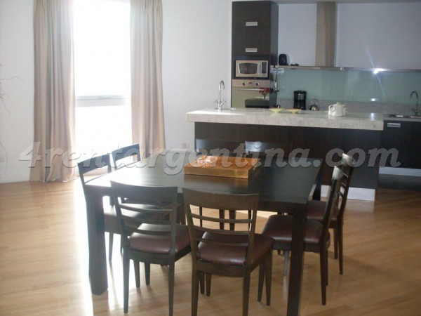 Manso and Alvear Pacini II: Furnished apartment in Puerto Madero