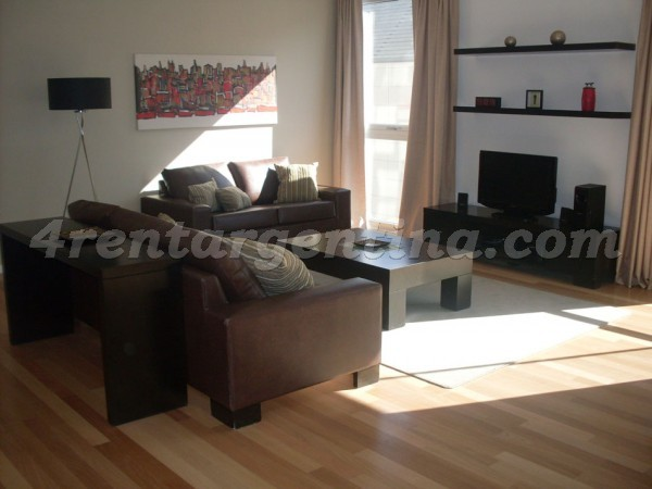 Manso and Alvear Pacini III: Apartment for rent in Buenos Aires