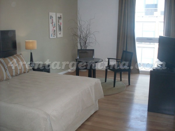 Manso and Alvear Pacini III, apartment fully equipped
