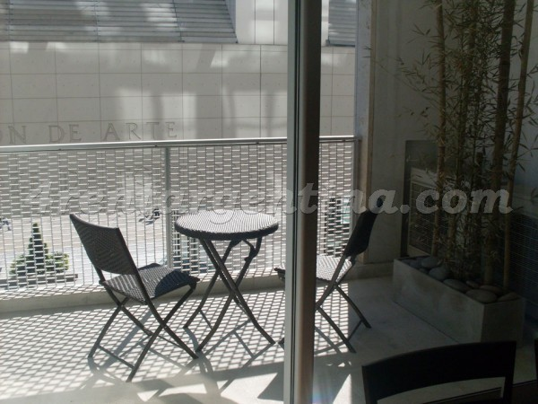 Manso and Alvear Pacini III: Apartment for rent in Puerto Madero