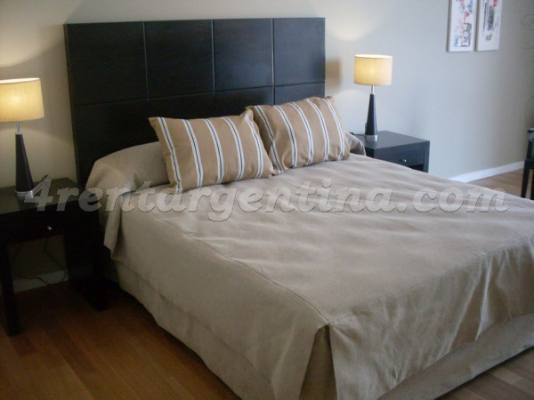 Manso and Alvear Pacini III: Furnished apartment in Puerto Madero