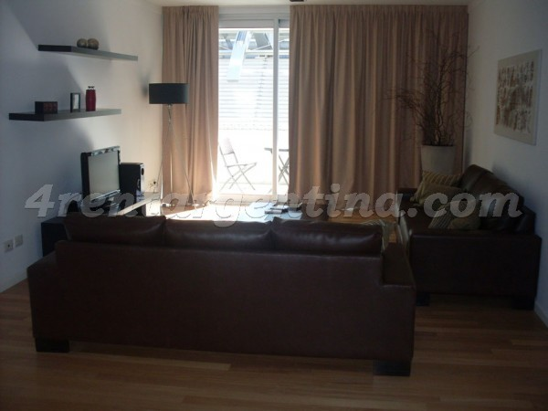 Manso et Alvear Pacini IV, apartment fully equipped
