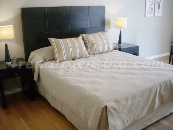 Manso and Alvear Pacini IV: Furnished apartment in Puerto Madero