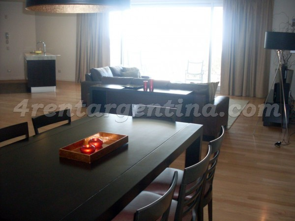 Manso et Alvear Pacini V: Furnished apartment in Puerto Madero