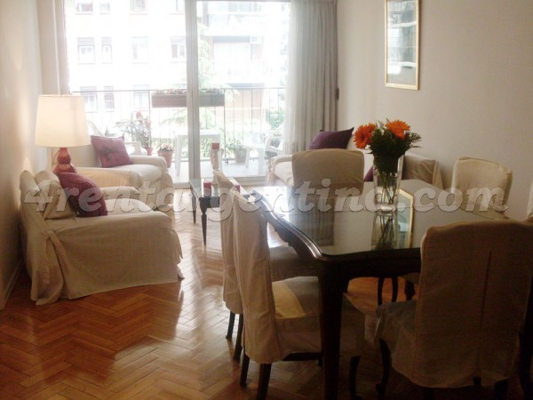 11 de Septiembre and La Pampa: Furnished apartment in Belgrano