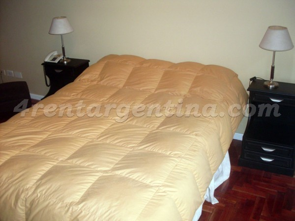 Vicente Lopez and Pueyrredon VI: Apartment for rent in Buenos Aires