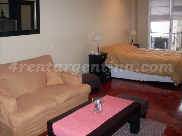 Vicente Lopez and Pueyrredon VI, apartment fully equipped