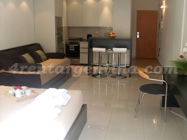 Carranza and Nicaragua I: Furnished apartment in Palermo