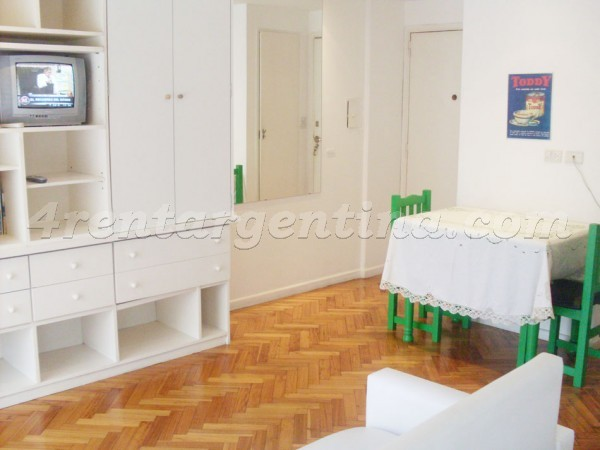Azcuenaga and French I, apartment fully equipped