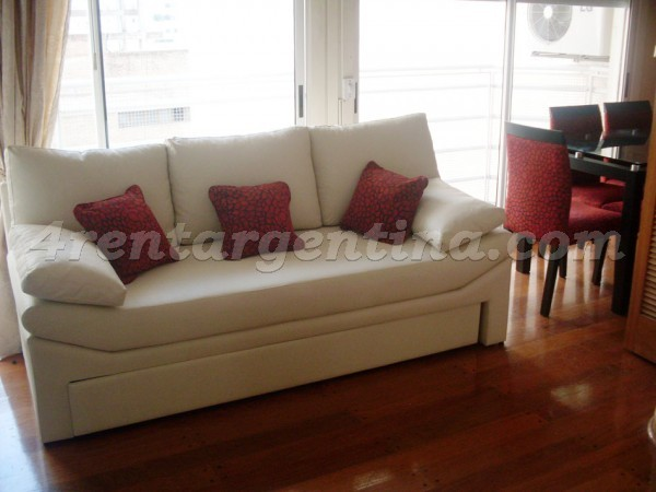 Arenales and Aguero: Apartment for rent in Recoleta